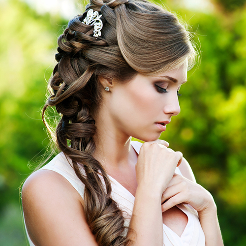 bridal hair services salon